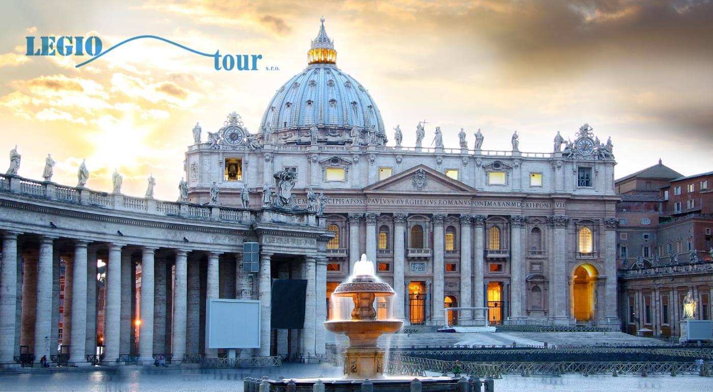 Navštívte najkrajšie miesta Ríma a Vatikánu počas 5-dňového zájazdu