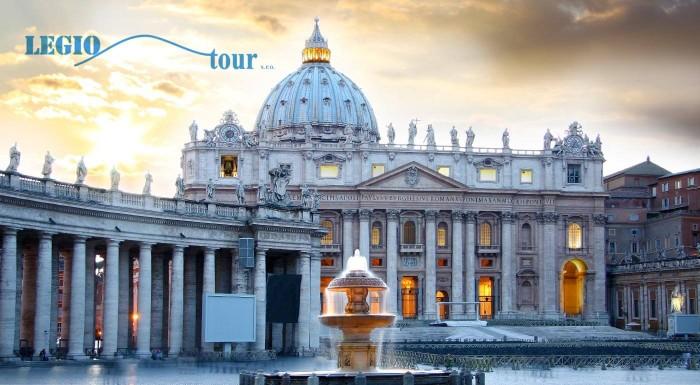 Navštívte Rím a Vatikán počas 5 dní