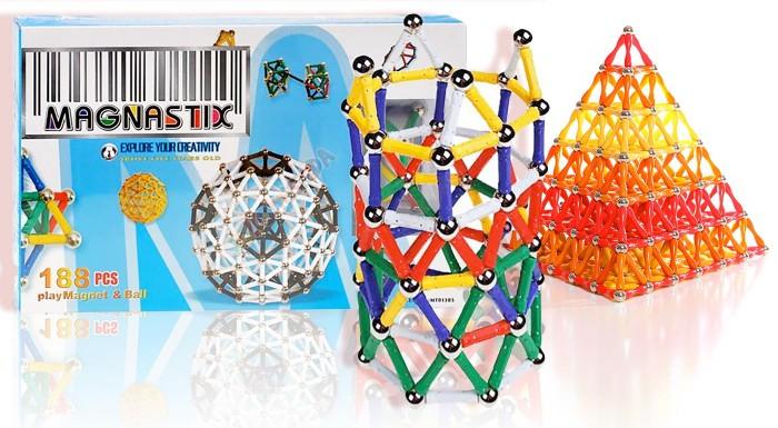 Fotka zľavy: Magnetická stavebnica Magnastix poteší nielen malých inžinierov. Prekvapte ich užitočným darčekom, ktorý rozvíja predstavivosť i logické myslenie.