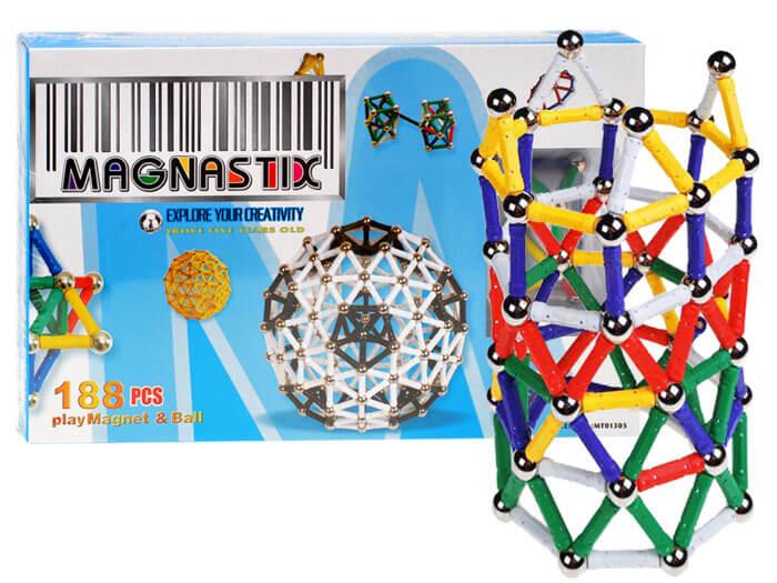 Detská stavebnica Magnastix 188 dielov