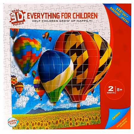 3D puzzle - balóny