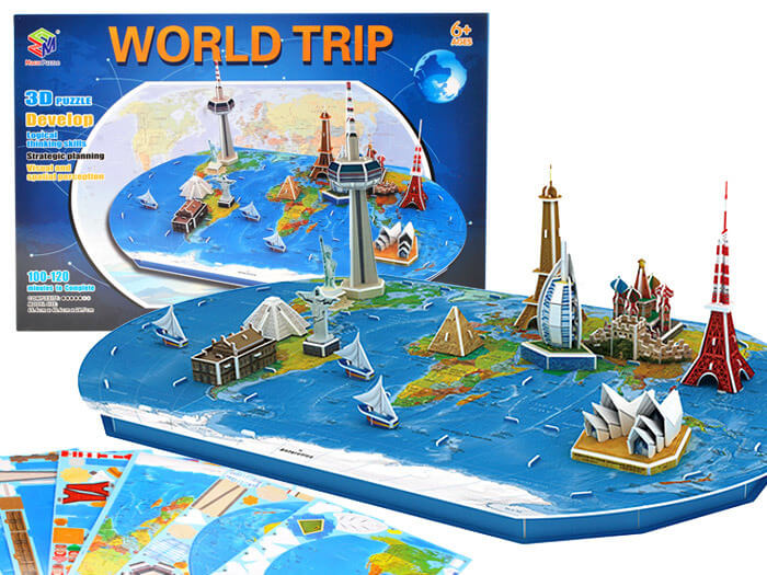 Magic Puzzle World Trip 3D -svet