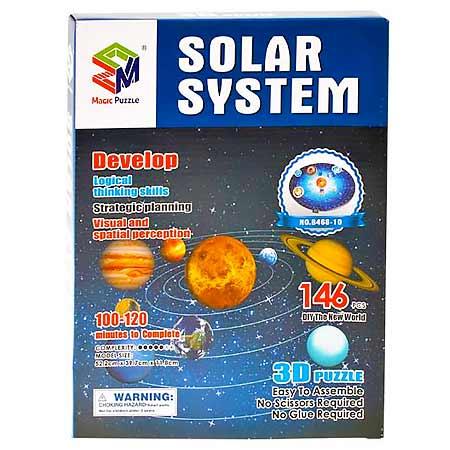 Magic Puzzle Solar System 3D - slnečná sústava