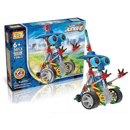 "LOZ Detská stavebnica ""Robot na kolesách"""