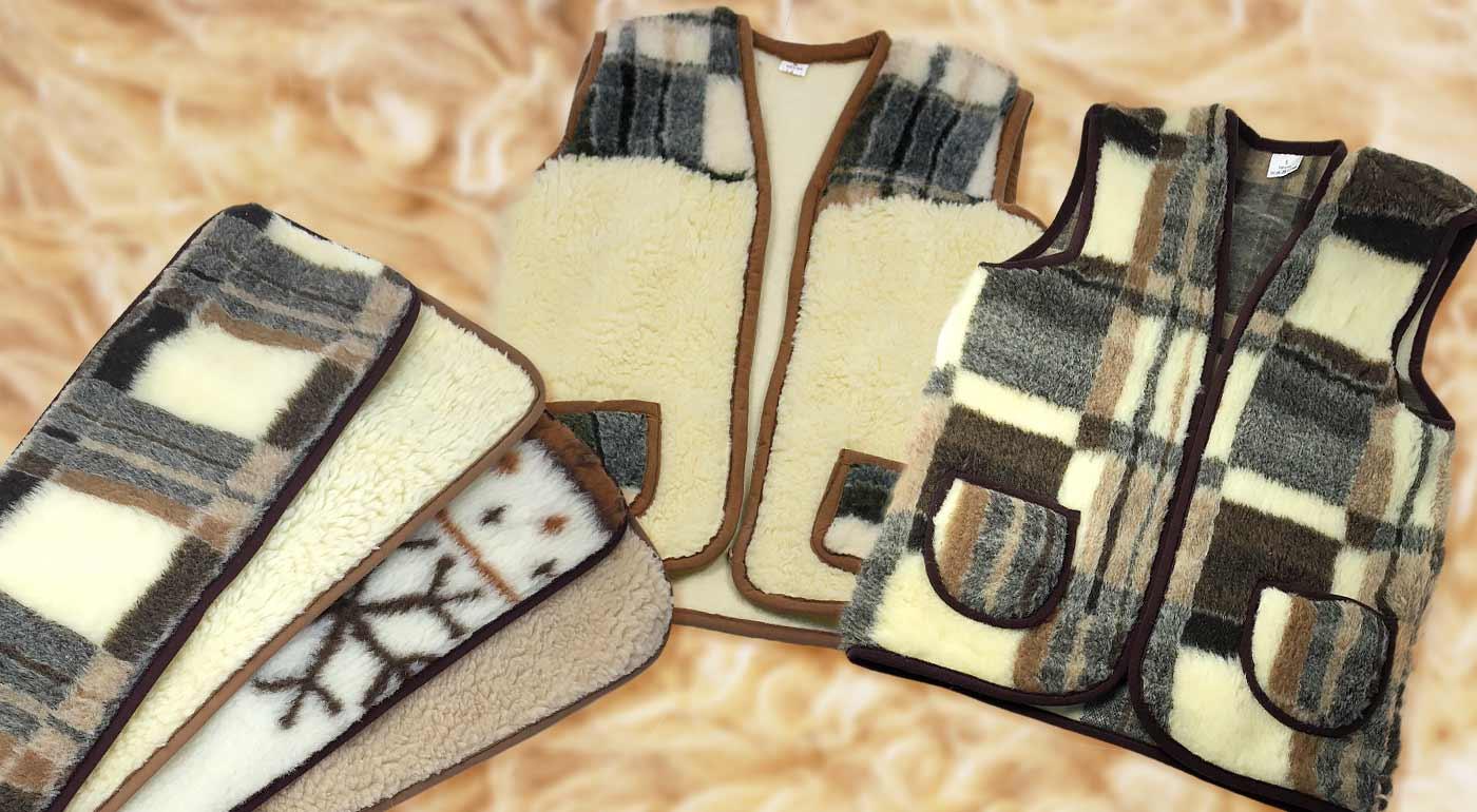 Fotka zľavy: V zime nie je nad osvedčené výrobky z pravej ovčej vlny - hrejivý ľadvinový pás alebo vesta už od 4,99 €. Presvedčí vás príjemný materiál, pohodlné nosenie a skvelé termoregulačné vlastnosti.