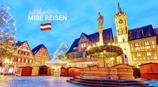 Zľava 31%: Máte radi tajomstvá stredovekých rádov? Nepremeškajte príležitosť nazrieť za múry najstaršieho kláštora v Heiligenkreuz a prezrite si adventne vyzdobené mestečko Baden.