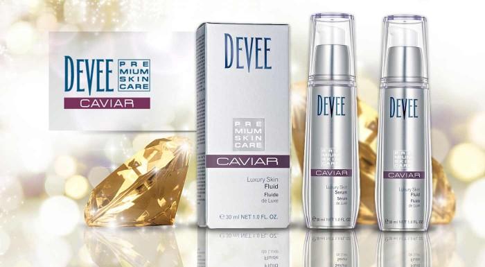 Vytaste do boja s vráskami tie najúčinnejšie zbrane. Pleťový fluid a sérum od značky Devee s obsahom kaviáru a kyseliny hyalurónovej zanechá pleť hladkú, jemnú a vyhladenú.