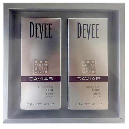 Darčeková sada - Devee Caviar pleťové sérum (30 ml) + Devee Caviar pleťový fluid (30 ml)