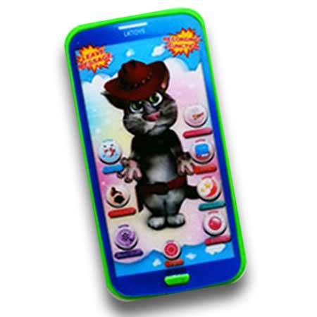 Detský mobilný telefón na výučbu angličtiny Talking Tom