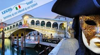 Zľava 44%: Každoročne sa celé Benátky oblečú do pestrofarebných masiek, historických kostýmov a zabávajú sa za účasti návštevníkov z celej zemegule. Tento rok tam rozhodne nesmiete chýbať ani vy!