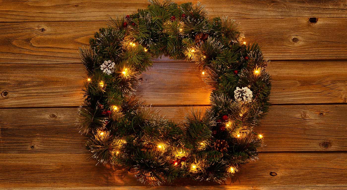 Vianočné LED osvetlenie na baterky - ideálne všade tam, kde sa nedajú viesť elektrické káble