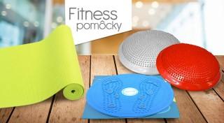 Zľava 46%: Vyberte si z ponuky pomôcok na cvičenie - balančný disk na sedenie uľaví vašim sedacím svalom, rotačný disk vám vytvaruje osí driek a s podložkou na cvičenie to všetko pôjde oveľa ľahšie.