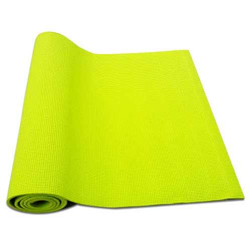 Podložka na cvičenie vrátane obalu, farba zelená
