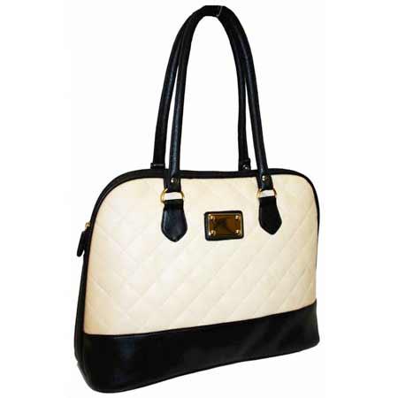 Dámska kabelka PANDORA - béžovo-čierna