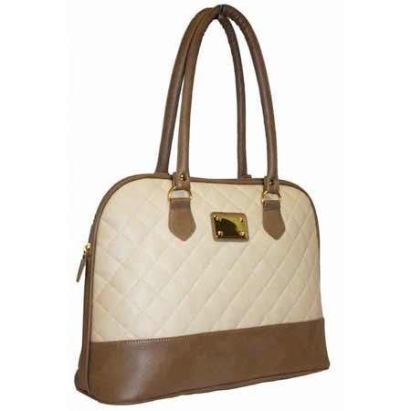 Dámska kabelka PANDORA - béžovo-hnedá