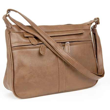 Dámska kabelka PENELOPÉ - hnedá