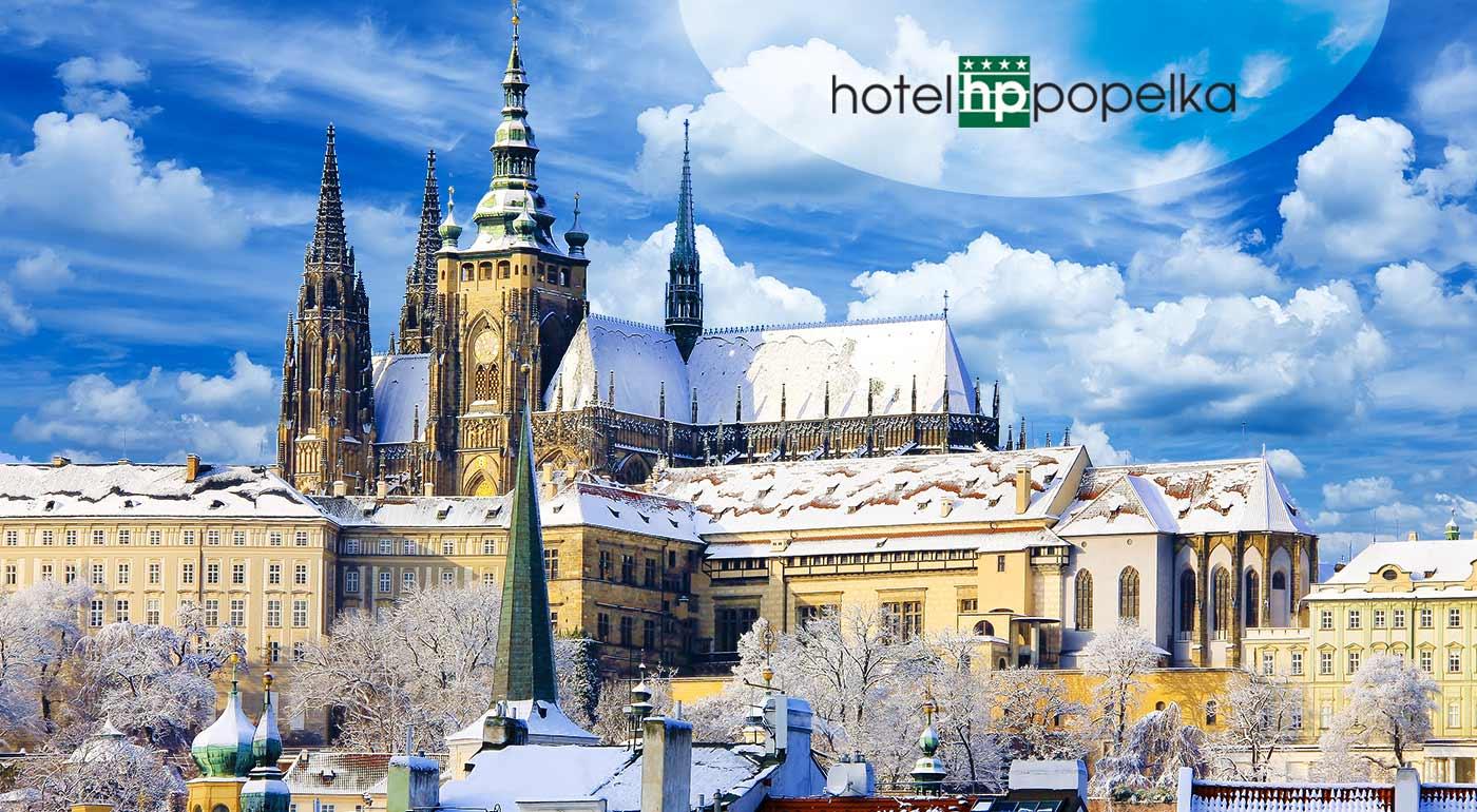 Urobte si 3-dňový výlet do luxusného Hotela Popelka**** s raňajkami a super dostupnosťou do centra Prahy.