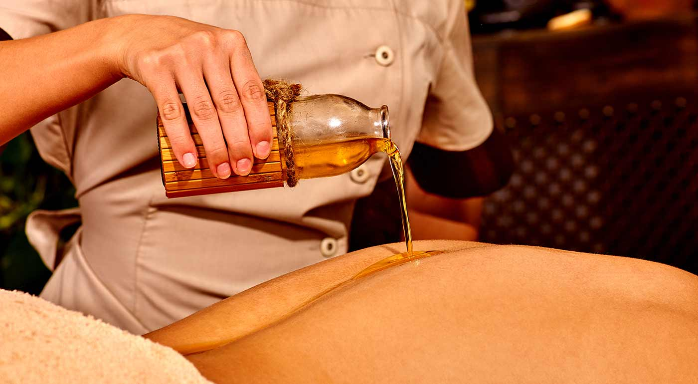 Hodinová ayurvédska masáž celého tela v Nitre