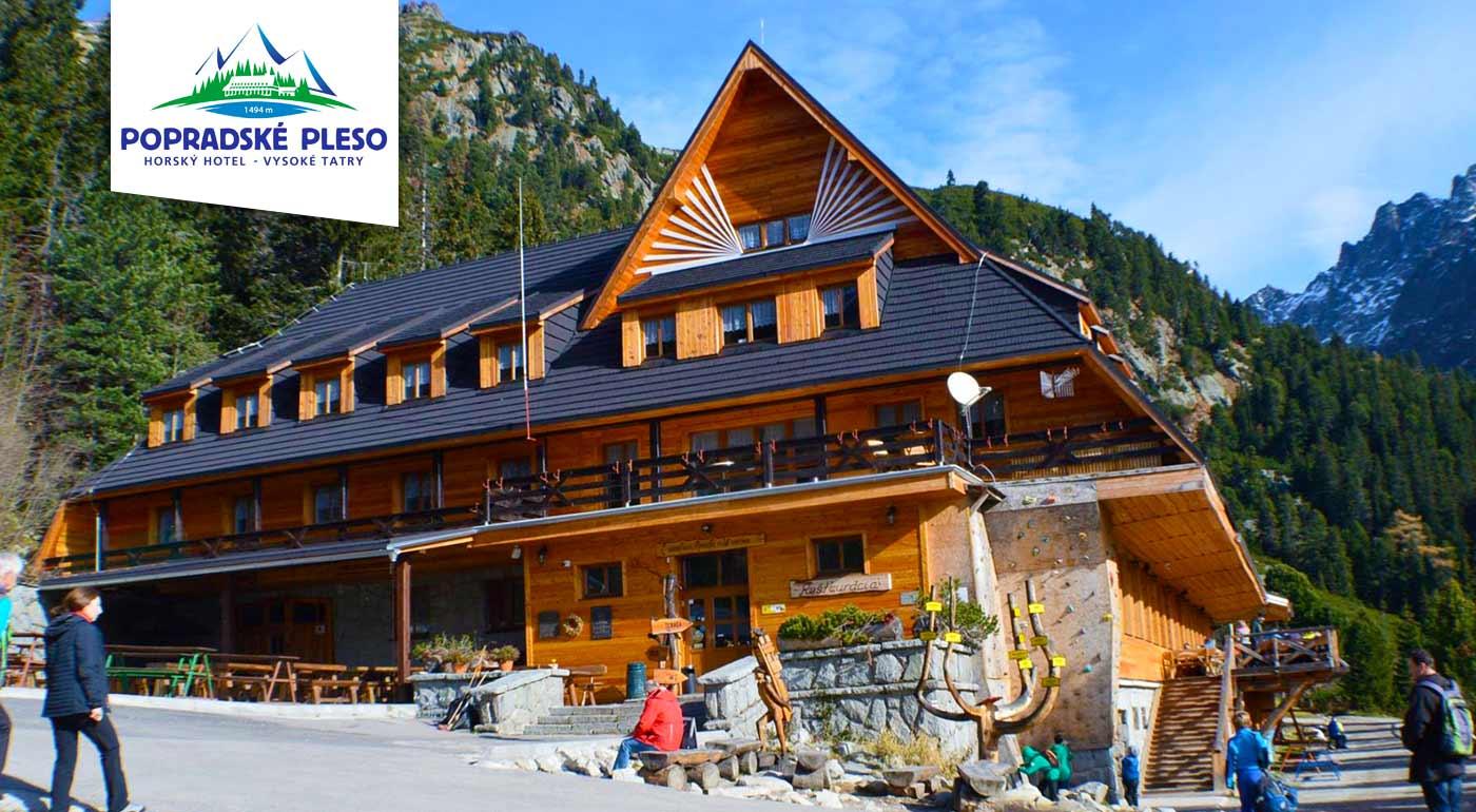 Fotka zľavy: Dokonalý tatranský relax a romantika v Horskom hoteli Popradské Pleso už od 36 € na 3 dni. V cene plná penzia, transfer a zľavy na wellness. Dieťa do 3 rokov zadarmo.