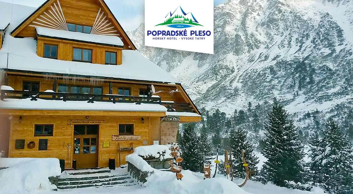 Fotka zľavy: Dokonalý tatranský relax a romantika v Horskom hoteli Popradské Pleso už od 40 € na 3 dni. V cene plná penzia a zľavy na wellness. Dieťa do 3 rokov zadarmo.