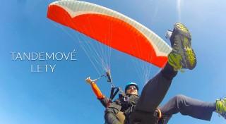 Zľava 33%: Doprajte si extra dávku adrenalínu pri tandemovom lete na padáku. Vychutnáte si krajinu z vtáčej perspektívy a zažijete nezabudnuteľné chvíle v oblakoch!