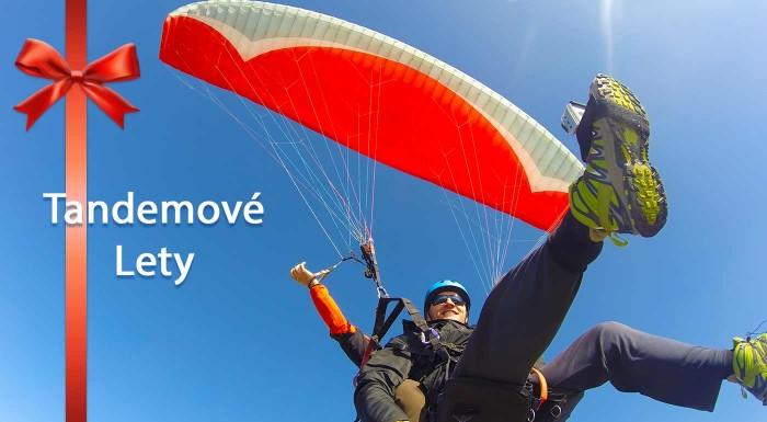 Fotka zľavy: Adrenalínový tandemový let na padáku