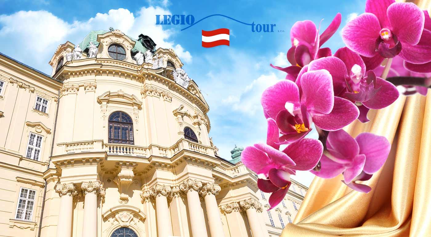 Najväčšia výstava orchideí v Rakúsku a prehliadka kláštora v Klosterneuburgu