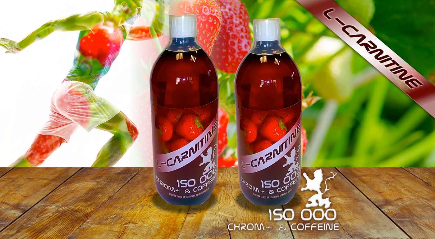 Bojujte proti únave, nadváhe či poruchám metabolizmu s L- Carnitine 150 000 s jahodovou príchuťou a obsahom kofeínu