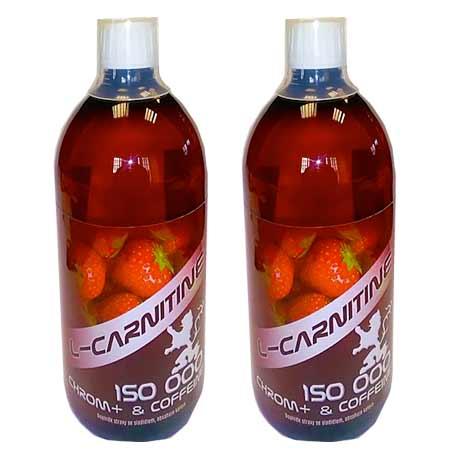 L Carnitine 150 000 chróm a kofeín (2 x 1000 ml)