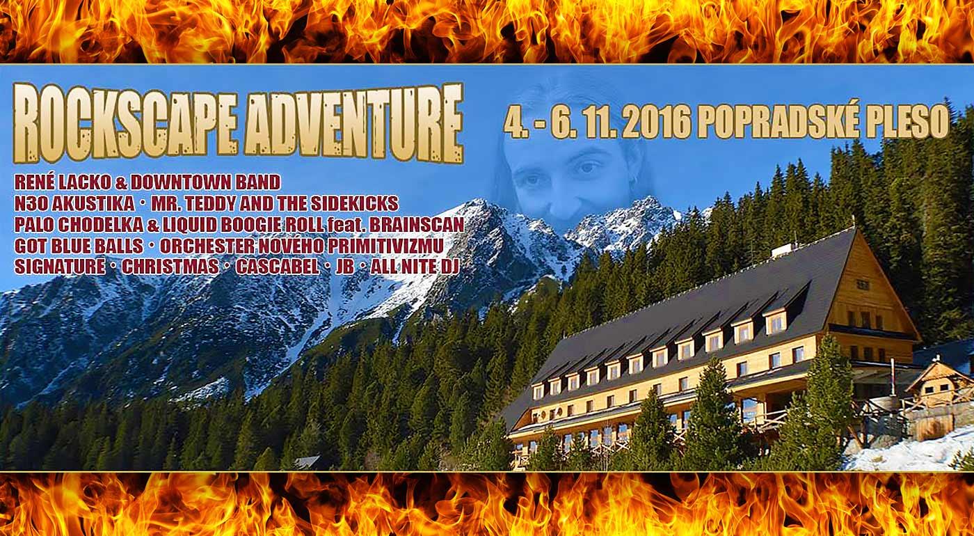 Prežite víkendové dobrodružstvo na Popradskom plese - Hudobný festival Rockscape Adventure vol. 2 s ubytovaním a polpenziou
