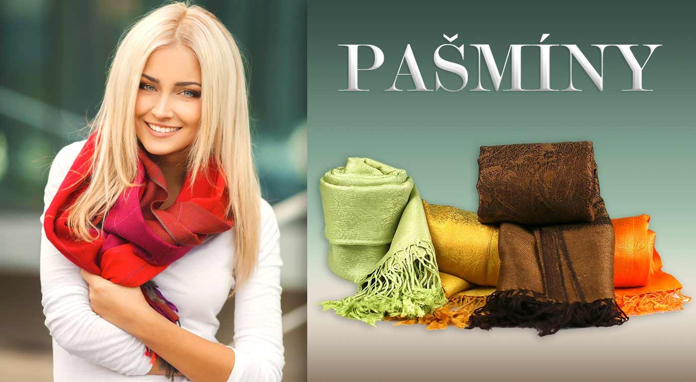 Pašmína - univerzálny módny doplnok pre každú ženu