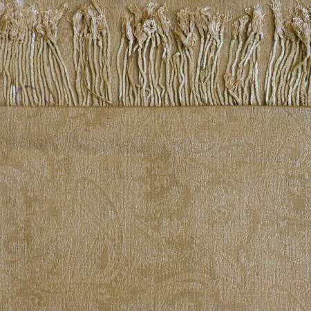 Pašmína (kašmírový šál) - farba zlato-hnedá