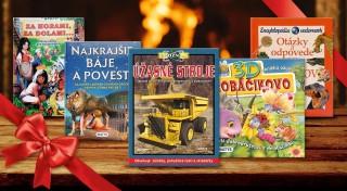 Zľava 42%: Knižky sa najlepšie cítia pod vianočným stromčekom! Potešte vašich najmenším priehrštím zaujímavých a nádherne ilustrovaných detských knižiek, ktoré urobia obrovskú radosť.