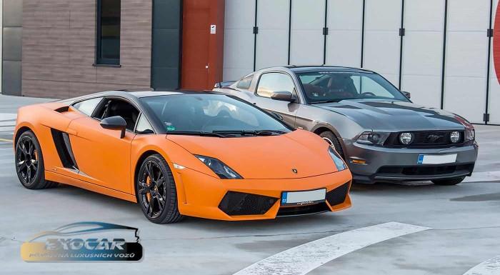 Fotka zľavy: Adrenalínová jazda na luxusných športových autách