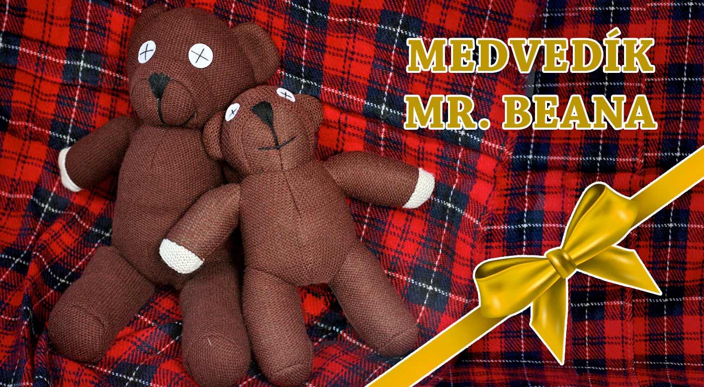 Medvedík Mr. Beana - verný spoločník pre deti i dospelých