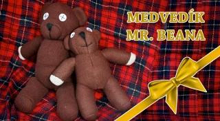 Zľava 28%: Roztomilý plyšový medvedík od Mr. Beana poteší nielen milovníkov obľúbeného sitkomu. Vyberte si z dvoch veľkostí. Možnosť osobného odberu v centre Bratislavy.
