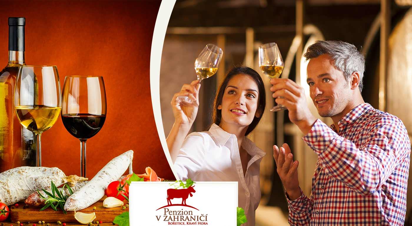 Fotka zľavy: 3-dňový vinársky pobyt na Morave v Penzióne v zahraničí - Bořetice Kraví Hora pre dvoch! V cene ubytovanie, raňajky, večere, živá hudba, chutné vínka a dieťa do 10 rokov zadarmo!