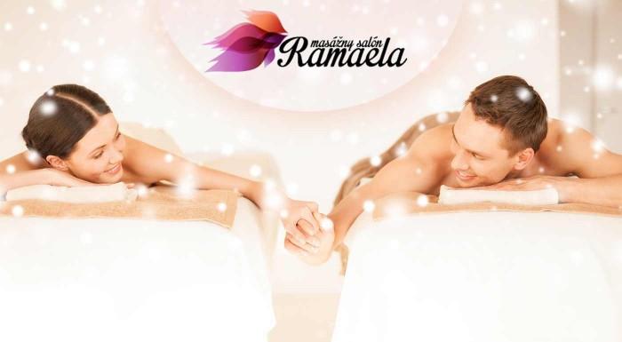 Fotka zľavy: Zrelaxujte na uvoľňujúcej TAO masáži pre pánov, dámy alebo páry alebo DeLuxe medovej masáži pre dvojice. V salóne Ramaela nájdete stratenú rovnováhu a načerpáte novú životnú energiu.