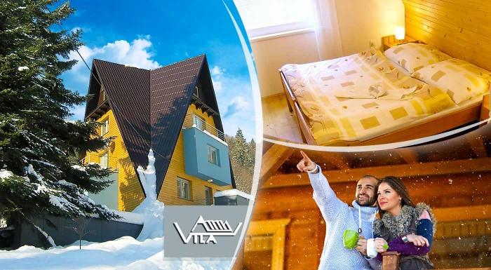 Fotka zľavy: Zoberte rodinku či priateľov do atypickej Vily Anna na Moravu s izbami navrhnutými architektom a užite si 3 alebo 4 nezabudnuteľné dni v nádhernej prírode Beskýd.