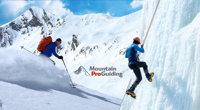 Fotka zľavy: Tatranská srdcovka - 3-dňový nezabudnuteľný zážitok v našich veľhorách. Skialpinistický a lavínový kurz, lezenie v ľadopáde, adrenalín a základné princípy prežitia v horách.