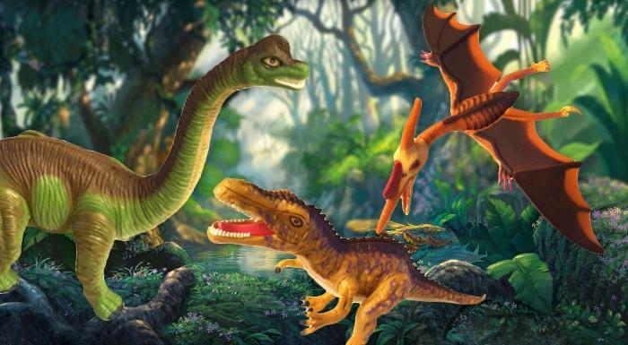 Fotka zľavy: Prekvapte vašich drobcov skvelou hračkou, ktorá pobaví, naučí a rozvíja logiku i motoriku. Čaká na vás až 6 druhov skladacích dinosaurov vo vajíčku.