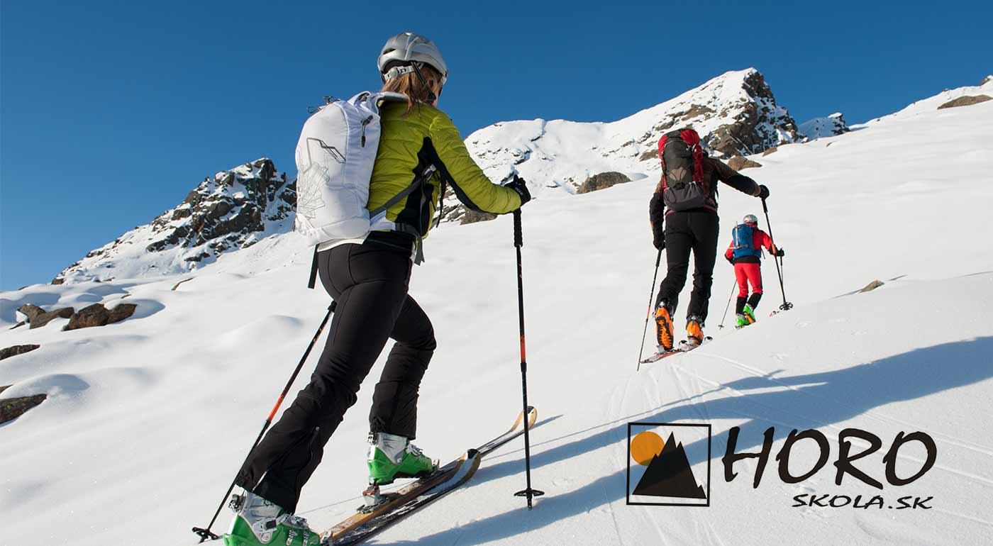 1-dňový kurz skialpinizmu pre 1 osobu