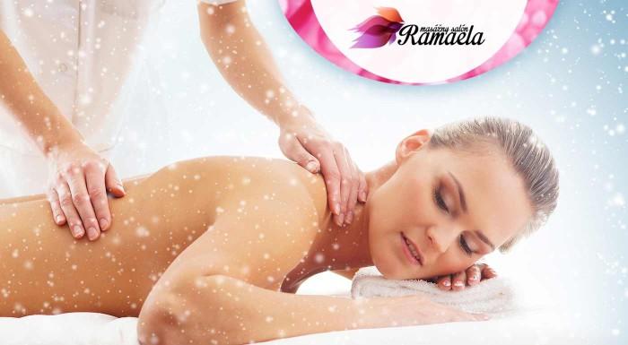 Fotka zľavy: Zbavte sa bolestí chrbtice účinným spôsobom. Vyskúšajte klasickú relaxačnú masáž chrbtice alebo gravitačnú lavicu NETOPIER. Nájdite relax v salóne Ramaela.
