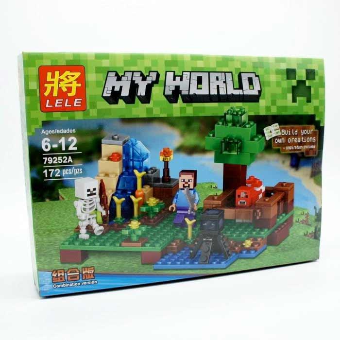 Stavebnica Lele Minecraft - 172 dielikov
