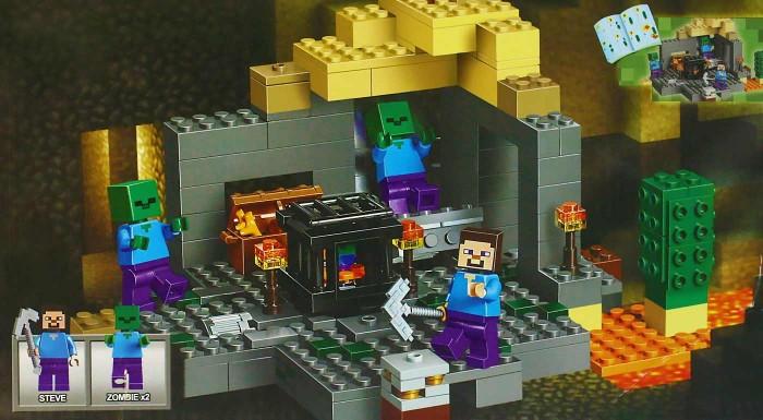 Fotka zľavy: Neviete čo deťom pod stromček? Stavebnicové skladačky nikdy neomrzia ani nevyjdú z módy. Pripravte vašim najmenším parádny darček v štýle Minecraft, s ktorým si užijú kopec zábavy.