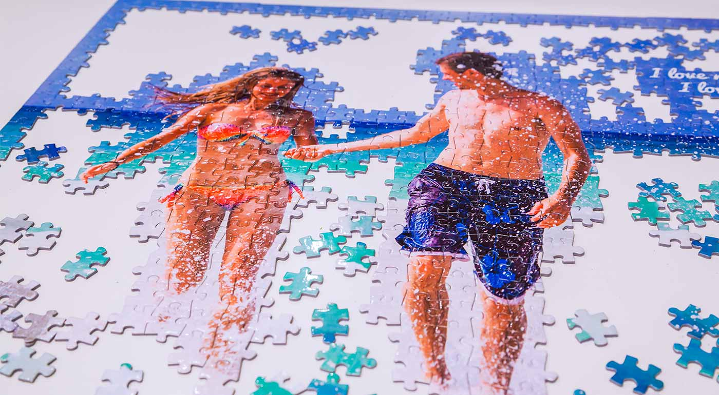 Puzzle s vlastnou fotografiou - na výber dva formáty!