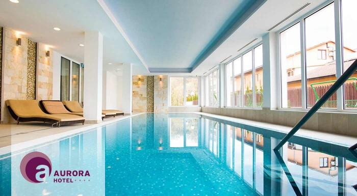 Fotka zľavy: Zimný relax v Hoteli Aurora**** pri maďarských jaskynných kúpeľoch Miskolctapolca pre dvoch s vynikajúcou kuchyňou, relaxom vo wellness, kúpeľoch či pri masážach! Deti do 6 rokov zadarmo.