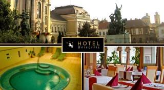 Zľava 67%: Wellness leňošenie v historickom kúpeľnom meste Eger v Hoteli Unicornis*** pre 2 osoby na 3 dni. Vychutnajte si plnú penziu, neobmedzený vstup do wellness hotela a uvoľňujúcu masáž!
