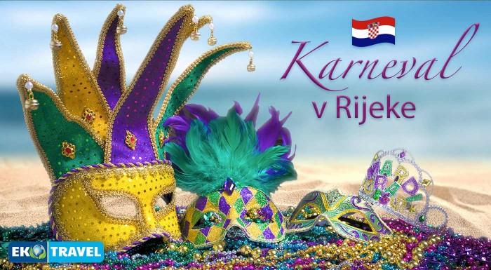 Fotka zľavy: Zábava, tanec a sprievod pestrofarebných masiek. Vyberte sa na 6-dňový zájazd na karneval do chorvátskej Rijeky a oddýchnite si po dlhej zime v pohodlí 4* hotela s polpenziou.