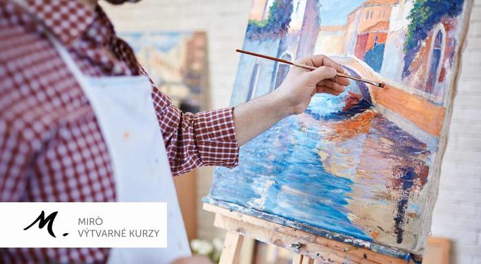 Fotka zľavy: Kreatívne kurzy kresby a maľby v Bratislave